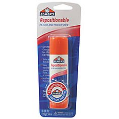 This is a chart-lover's must:  Elmer's® Repositionable Picture And Poster Glue Stick  {It turns any piece of paper into a sticky note... brilliant for anchor chart pieces!}