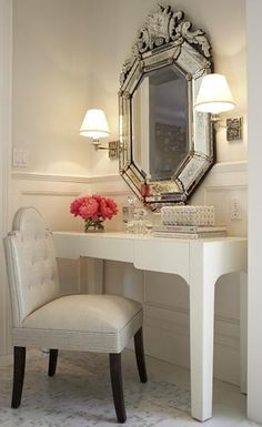 .Stylish Dressing table and chair