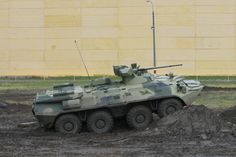 The BTR-82A is an advanced 8x8 wheeled armoured personnel carrier (APC) being manufactured by Military Industrial Company of Russia for use by the armies of Russia & Kazakhstan. The first prototypes of the vehicle were unveiled in December 2009. The APC's features were demonstrated during the 15th Interpolitex State Security Materiel Show at the All-Russia Exhibition Centre in Moscow in October 2011. It was also displayed at the Russian Expo Arms 2011 show in Nizhny Tagil. The Ministry of…