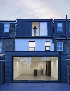 Ground and loft floor extension under permitted development rights in London — A L E Z Architects House Extension Plans, House Extension Design, Roof Extension, Extension Ideas, Loft Conversion Bedroom, Dormer Loft Conversion, Loft Conversions, Loft Design, House Design