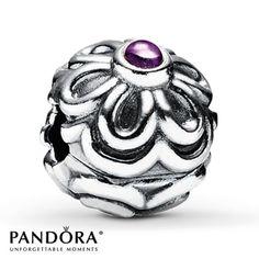 Pandora Zinnia Charm
