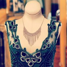 An extremely beautiful dress for #1920s