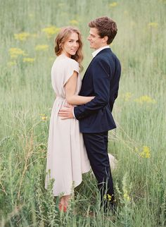 Sweet and Joyful Outdoor Engagement Session