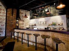 industrial resturant decor | Restaurants | B3 Designers