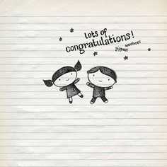 Lots Of Congratulations Card