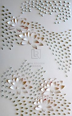 Lotus Flow I (Triptych)