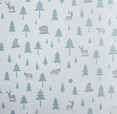 'Into the Wild' wallpaper by Hibou Home, room design and styling by Bobby Rabbit