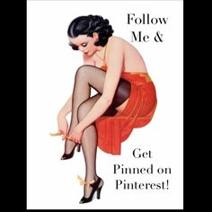 Get Pinned in true Pin-Up Fashion ✨Hey ladies! Do you Pinterest? I do! Posh shares now go to Pinterest! So like, follow, share, & get pinned!✨ *Posh Compliant Closets Only* Other