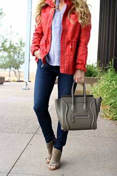SUNGLASSES(only $16!) | LIP LINER (Dervish) | LIPSTICK (Coral Bliss) | PINK JACKET (comes in 5 colors!) | STRIPED TOP(on sale for $22!) | CAMISOLE(the best!) | WATCH | JEANS (lower rise) | CELINE MICRO (similar / save / splurge) | BOOTIES(on sale!) This past…