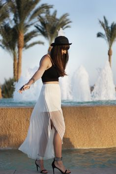 Salt in the air, sand in my hair - new Outfit online on belle-melange.com