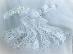 Croche pro Bebe: Vestidinhos achados na net,pura inspiração....