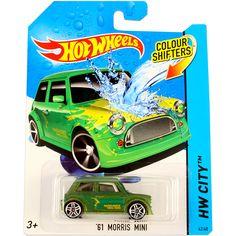 Hot Wheels City: színváltós 61 Morris Mini kisautó
