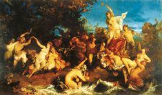 Hans Makart - Triumph der Ariadne