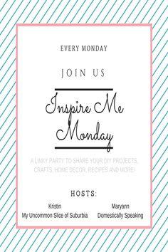 Inspire Me Monday #216