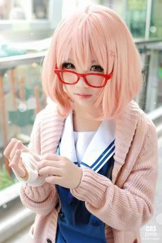 Cosplay: Kyoukai no Kanata || no idea who she is but I look like her?