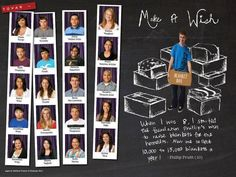 class portrait pages one page pics, one page article
