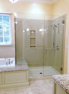 Find this Pin and more on Master Bath Remodel by Onyx shower . Bad Inspiration, Bathroom Inspiration, Douche Design, Master Bath Shower, Master Bathroom, Glass Shower Doors, Glass Doors, Master Bath Remodel, Shower Surround