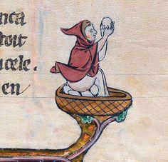 eggman Le livre de Lancelot du Lac & other Arthurian Romances, Northern France ca. 1275-1300Beinecke Rare Book & Manuscript Library, MS 229, fol. 31r