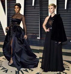festa-vanity Lily Collins, Jennifer Aniston, Oscars 2017, Sari, Formal Dresses, Vanity, Traditional, Fashion, Templates