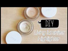 DIY | Living Luminizer | Illuminateur / Highlighter home made | Mamzelle Emie - YouTube