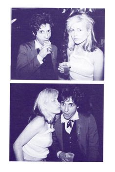 Debbie Harry and Johnny Thunders.