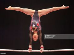 . Glasgow, Scotland. FIG Artistic Gymnastics World Championships. Day Seven. Asuka TERAMOTO (JPN) during her routine on the Uneven Bars in the Women's All-Around Final.