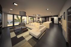 Contemporary custom home by Design Styles Architecture, FL
