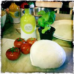 Caprese salad Villa Cappelli-style.  #villacappelli #sundriedtomatooil #appetizers
