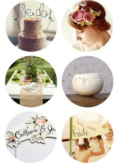 love the wire cake topper, could work in a cheese tower!?