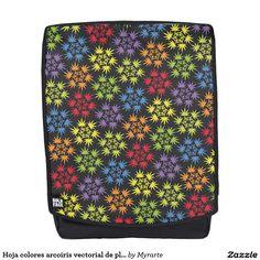 Hoja colores arcoiris vectorial de planta. Plant. Cannabis. Producto disponible en tienda Zazzle. Accesorios, moda. Product available in Zazzle store. Fashion Accessories. Regalos, Gifts. Link to product: http://www.zazzle.com/hoja_colores_arcoiris_vectorial_de_planta_plant_backpack-256395044203465768?CMPN=shareicon&lang=en&social=true&rf=238167879144476949 #mochila #backpack #marihuana #cannabis
