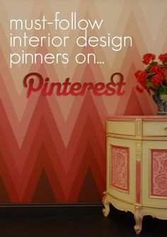 Yup...in the top 5!  Must-Follow Interior Design Pinners On Pinterest - The Directory ➤  http://CARLAASTON.com/designed/must-follow-interior-design-pinterest