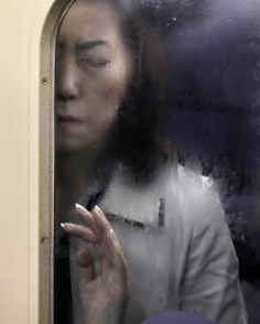 Michael Wolf-Pressed Against the Glass on Japan's Crowded Subways - My Modern Metropolis
