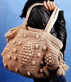 Crochet Bag Pattern PDF Pattern van jelenateperik op Etsy