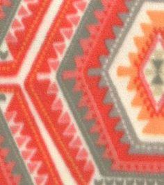 "Anti-Pill Fleece Fabric 59""-Chogan Coral"