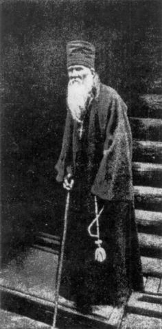"""st. Ambrose of Optina. """"Sinful thoughts continually disturb a man. But if he does not cooperate with them, then he is not guilty of them."""""""