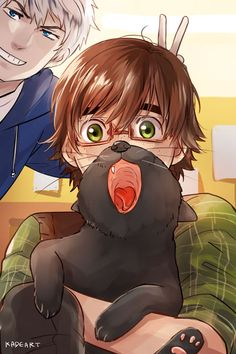 Cat Bearding Dreamworks University (x) i just died. this is really good anime/manga stuff.