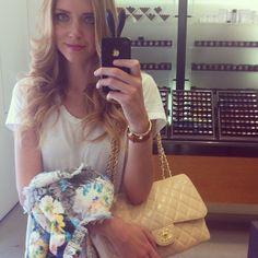 Love the makeup! - @Isabelle Chiara Ferragni- #webstagram