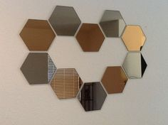 Neo creation using IKEA Honefoss mirrors!#Pin By:Pinterest++ for iPad#