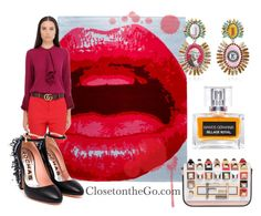 """Happy Fashion"" by closetonthego ❤ liked on Polyvore featuring Gucci"