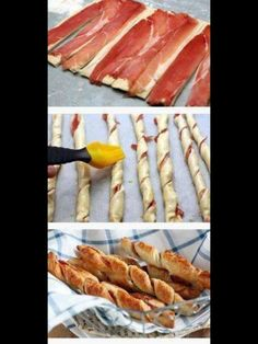 Aperitivos - make with smoked salmon ? Breakfast And Brunch, Breakfast Recipes, Breakfast Meat, Breakfast Items, Breakfast Casserole, Brunch Recipes, Dinner Recipes, Snacks Für Party, Finger Foods