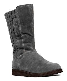 This Gray Stacy Sweater Boot is perfect! #zulilyfinds