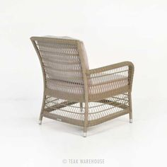 Hampton Wicker Dining Chair (Pebble)