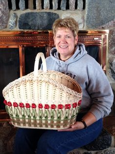 Plant Basket, Bamboo Basket, Egg Basket, Home Decor Baskets, Basket Decoration, Basket Weaving Patterns, Basket Crafts, Hand Weaving, Weaving Art