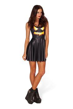 Jack O Lantern Skater Dress – Black Milk Clothing