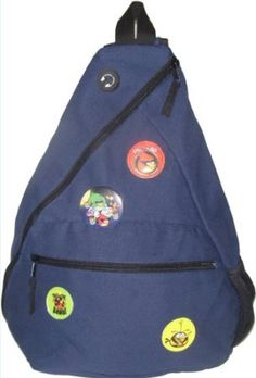 Essfil Angry Bird Space Tuition Bag, Blue