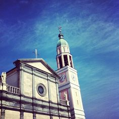 #Blue #sky, #cold day. #Church