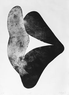 """Witold Winek """"uoX"""", 106X78, relief print, 2014"""