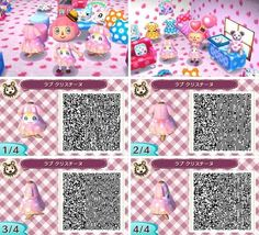 This bunny, Chrissy (the one displayed on the dress) moved into my town a few days ago. I hate her. Why? Because she decided to build her pretty pink home right in front of my house, crushing my garden... MY TULIPS! MY PANSIES! WHY?!