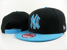 New Era MLB New York Yankees Caps Black Blue 3718! Only $7.90USD