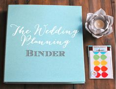 The Wedding Planner Binder - A guide for brides to create their own wedding planning binder!